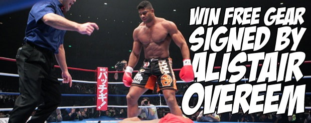 Contest – Win FREE gear SIGNED by Alistair Overeem!