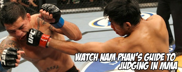 Watch Nam Phan's guide to judging in MMA