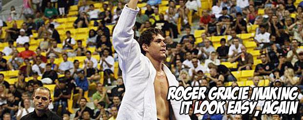 Roger Gracie making it look easy, again