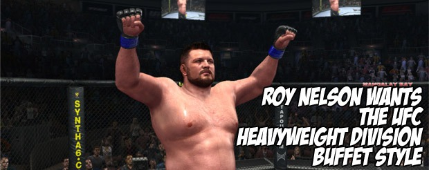 Roy Nelson Wants The Entire UFC Heavyweight Division Buffet Style