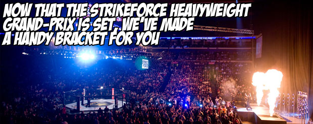 Now that the Strikeforce Heavyweight Grand-Prix is set, we've made a handy bracket for you