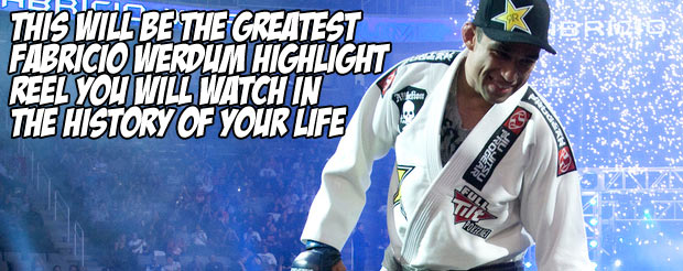 This will be the greatest Fabricio Werdum highlight reel you will watch in the history of your life