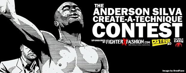 The Anderson Silva Create-A-Technique Contest