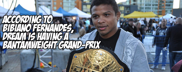 According to Bibiano Fernandes, DREAM is having a bantamweight grand-prix