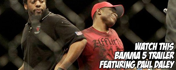 Watch this Bamma 5 trailer featuring Paul Daley