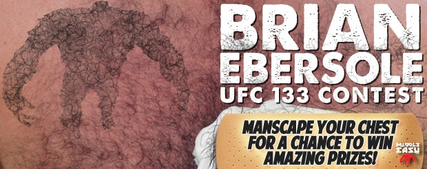 Get ready for this epic UFC 133 Brian Ebersole contest