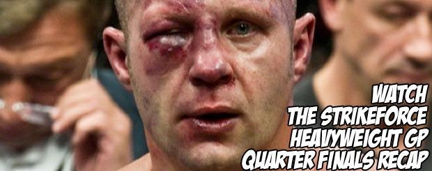 Watch the Strikeforce Heavyweight GP quarter-finals recap video