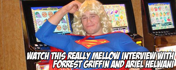 Watch this really mellow interview with Forrest Griffin and Ariel Helwani