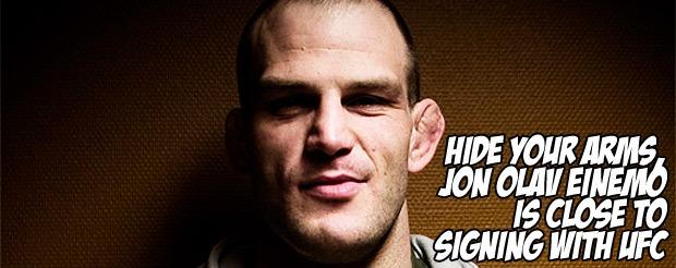Surprise, Jon Olav Einemo is back in the UFC