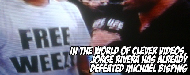 In the world of clever videos, Jorge Rivera has already defeated Michael Bisping