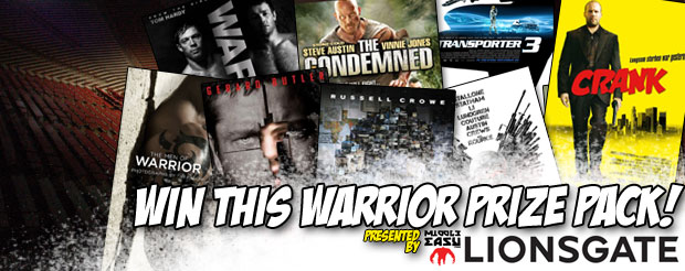 Win this 'Warrior' Prize Pack from Lionsgate!
