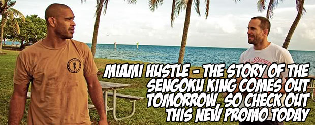 Miami Hustle – The Story of The Sengoku King comes out tomorrow, so check out this new promo today