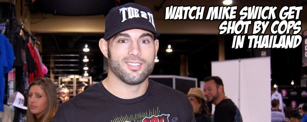 Watch Mike Swick Get Shot by Cops in Thailand