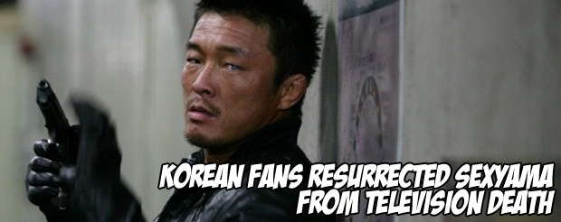 Korean fans resurrected Sexyama from television death