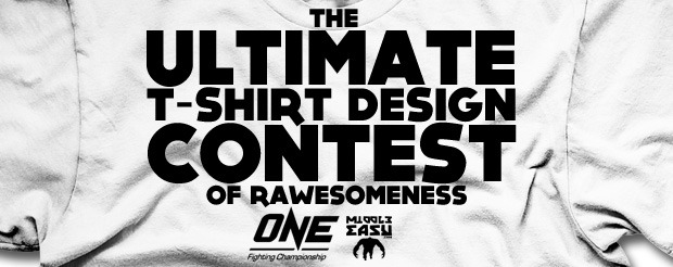 It's time for YOU to enter The Ultimate ONE FC T-Shirt Design Contest