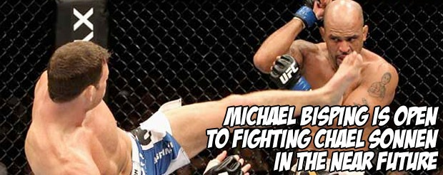Michael Bisping is open to fighting Chael Sonnen in the near future