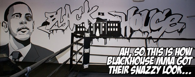 Ah, so this is how Blackhouse MMA got their snazzy look…
