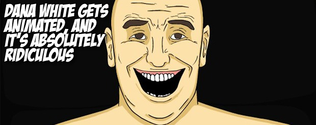 Dana White gets animated, and it's absolutely ridiculous