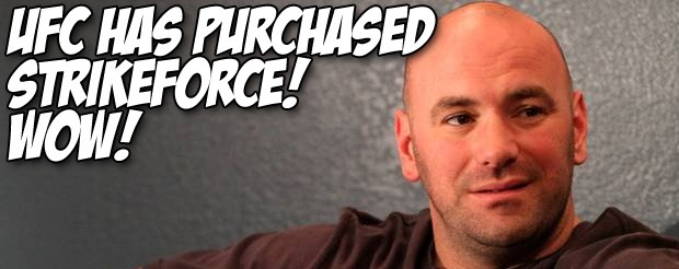 UFC has purchased Strikeforce! Wow!