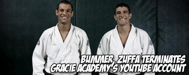 Bummer, ZUFFA terminates Gracie Academy's YouTube account