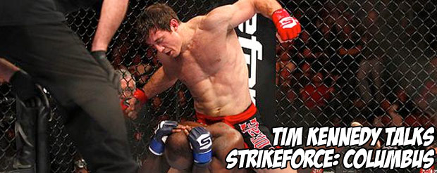 Tim Kennedy talks Strikeforce: Columbus