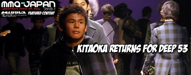 Kitaoka Returns for DEEP 53
