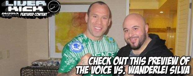 Check out this preview of The Voice vs. Wanderlei Silva