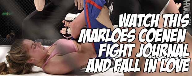 Watch this Marloes Coenen fight journal and fall in love