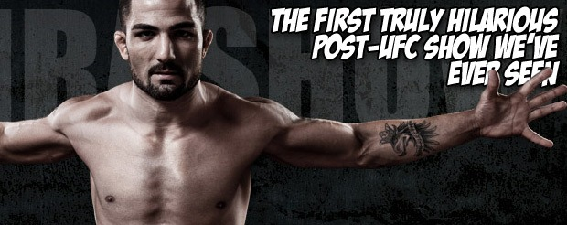 The first truly hilarious post-UFC show we've ever seen