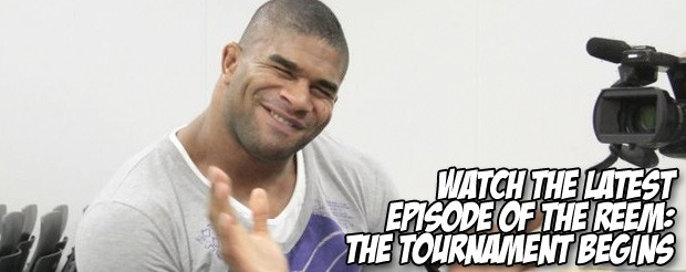 Watch Alistair Overeem maintain his composure during an extremely uncomfortable exchange with a MMA show host