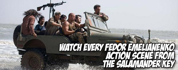Watch every Fedor Emelianenko action scene from The Salamander Key