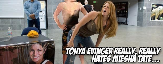 Tonya Evinger really, really hates Miesha Tate…