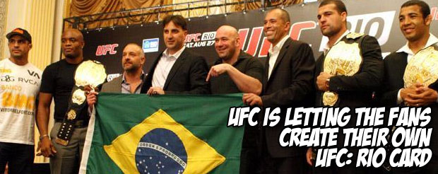 The UFC: Rio poster that would satisfy all Pride FC fans