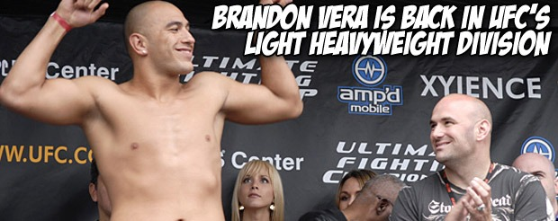 Brandon Vera is back in UFC's light heavyweight division