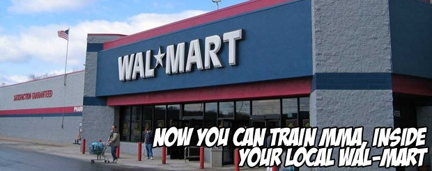 Now you can train MMA — inside your local Wal-Mart