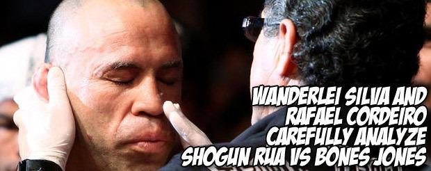 Wanderlei Silva and Rafael Cordeiro carefully analyze Shogun Rua vs. Bones Jones