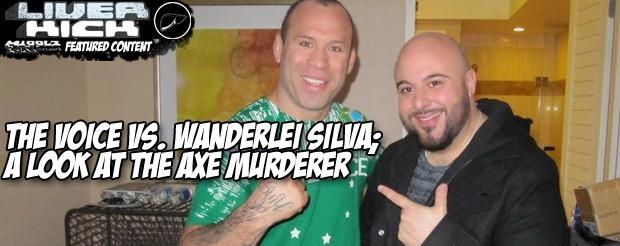The Voice vs. Wanderlei Silva; A look at the Axe Murderer