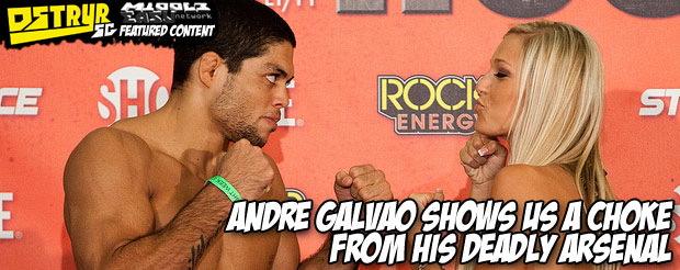 Andre Galvao shows us a choke from his deadly arsenal