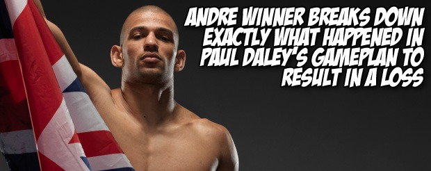 Andre Winner breaks down exactly what happened in Paul Daley's gameplan to result in a loss