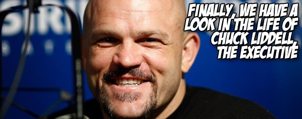 Finally, we have a look in the life of Chuck Liddell, the executive