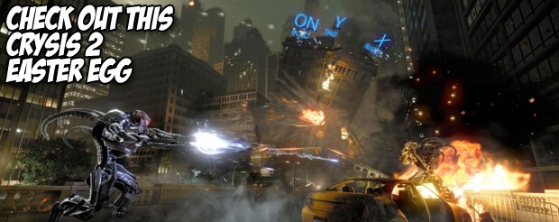 Check out this Crysis 2 Easter egg