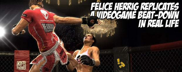 Don't forget, Felice Herrig fights TONIGHT at XFC 15