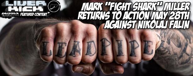 Watch Mark 'Fight Shark' Miller's United Glory Vlog