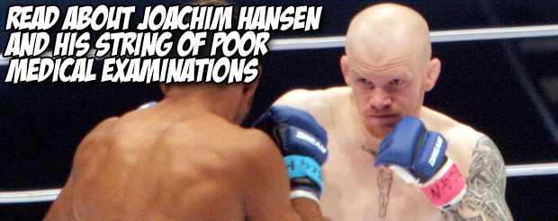Read about Joachim Hansen and his string of poor medical examinations