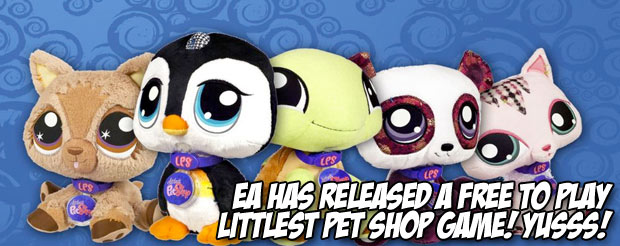 EA has released a free to play Littlest Pet Shop game!! Yusss!