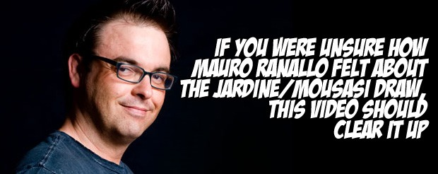 If you were unsure how Mauro Ranallo felt about the Jardine/Mousasi draw, this video should clear it up