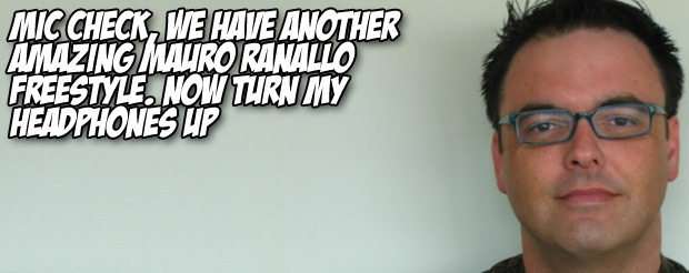 Mic check, we have ANOTHER amazing Mauro Ranallo freestyle