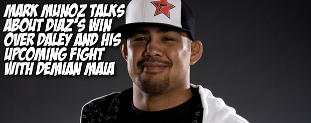 Mark Munoz talks about Diaz's win over Daley and his upcoming fight with Demian Maia