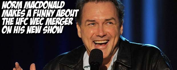 Norm Macdonald sends his nephew Kyle to cover UFC 121 with mixed results