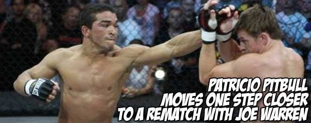 Patricio Pitbull moves one step closer to a rematch with Joe Warren